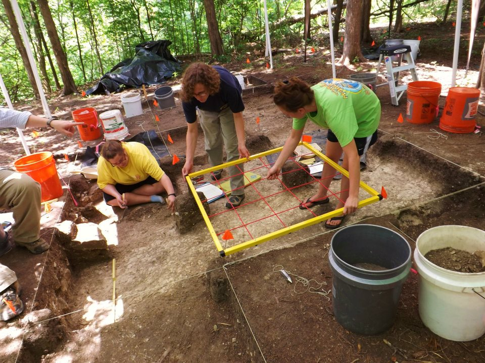 Fort Tombecbe excavation