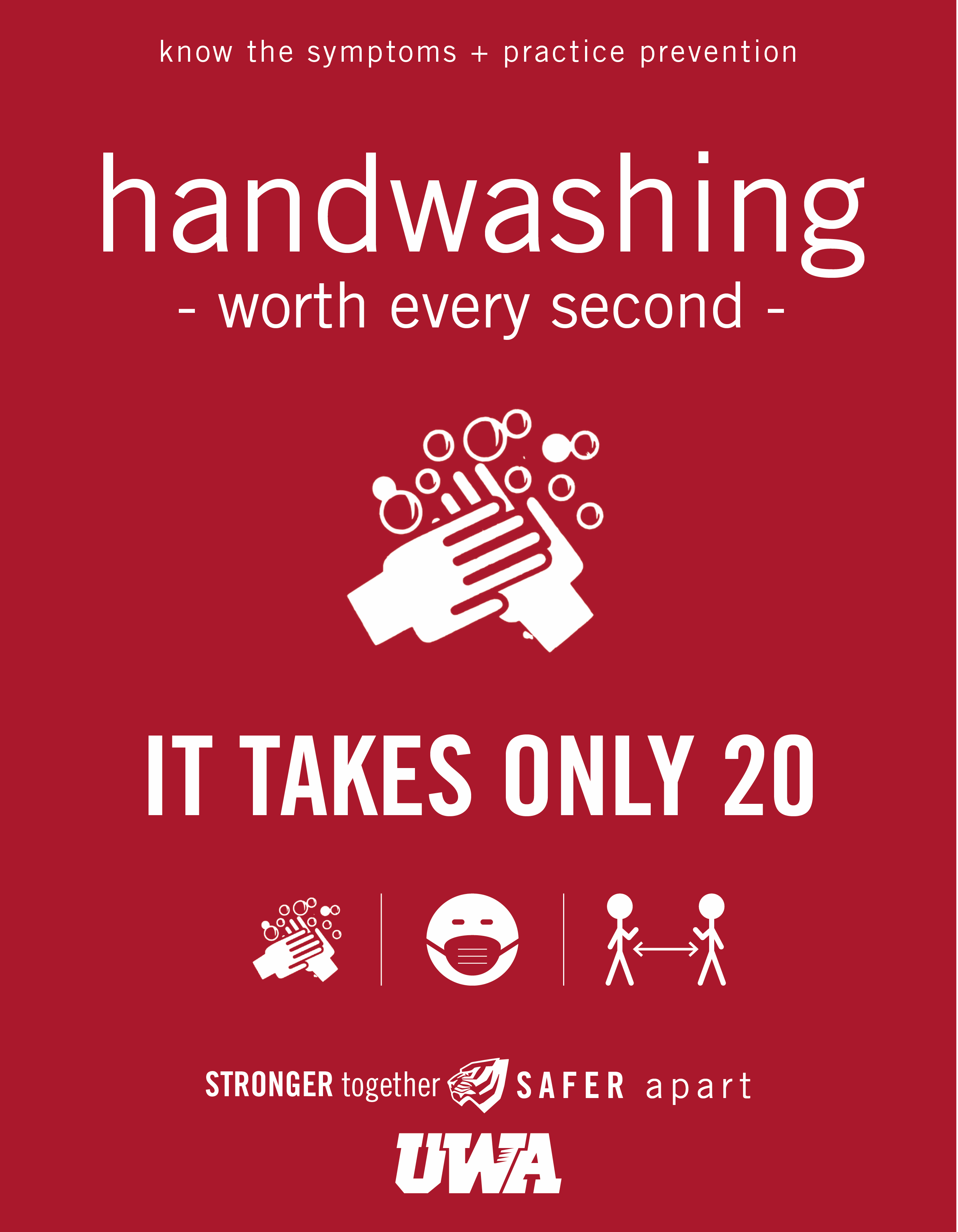 UWA Campus COVID Safety Handwashing