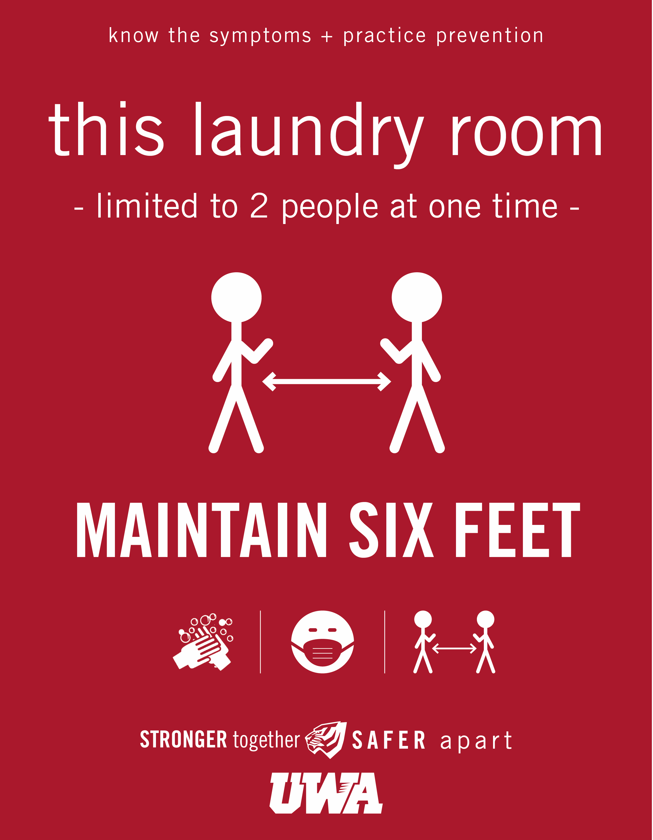 UWA Campus COVID Safety Laundry 2