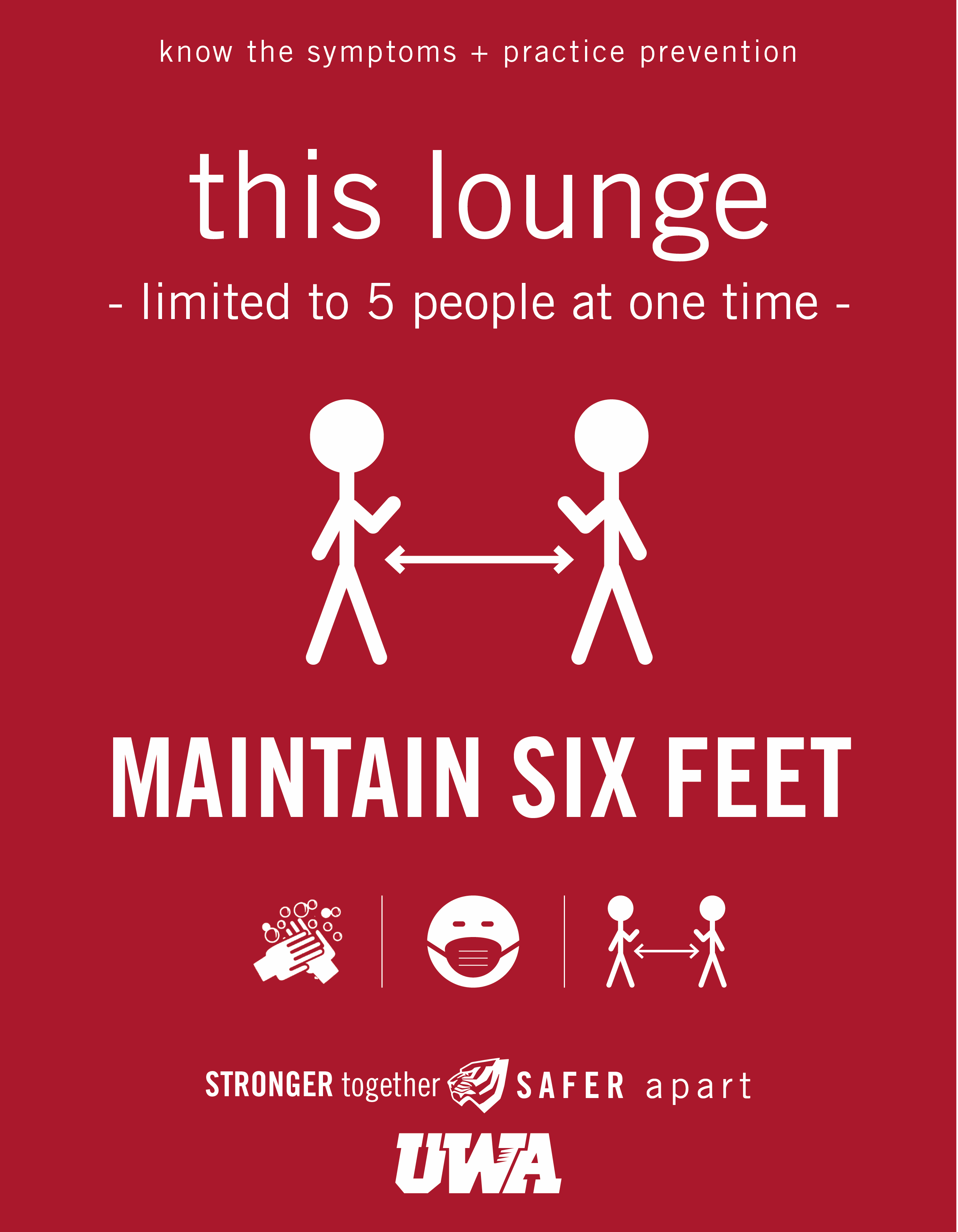 UWA Campus COVID Safety Lounge 5