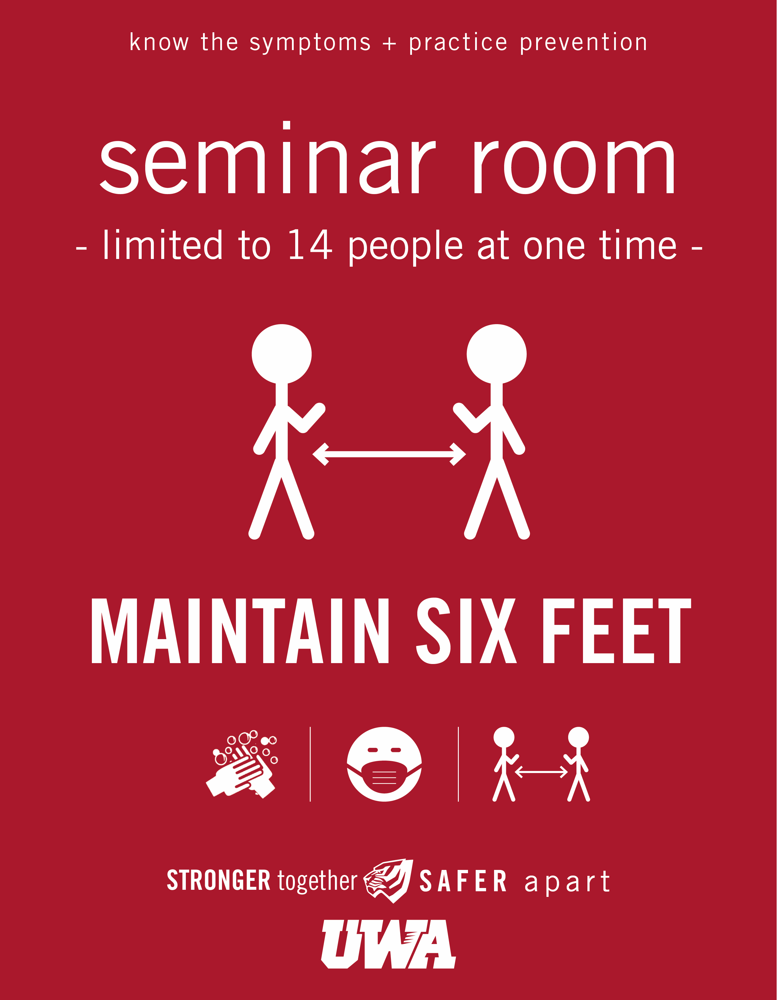 UWA Campus COVID Safety Seminar Room 14