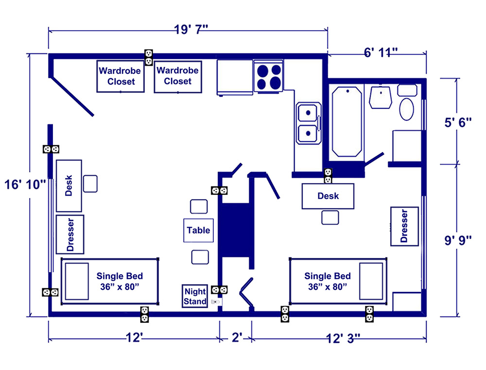 Patterson Hall Floor Plan