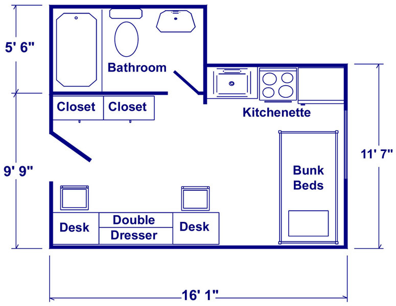 Stickney Hall Floor Plan