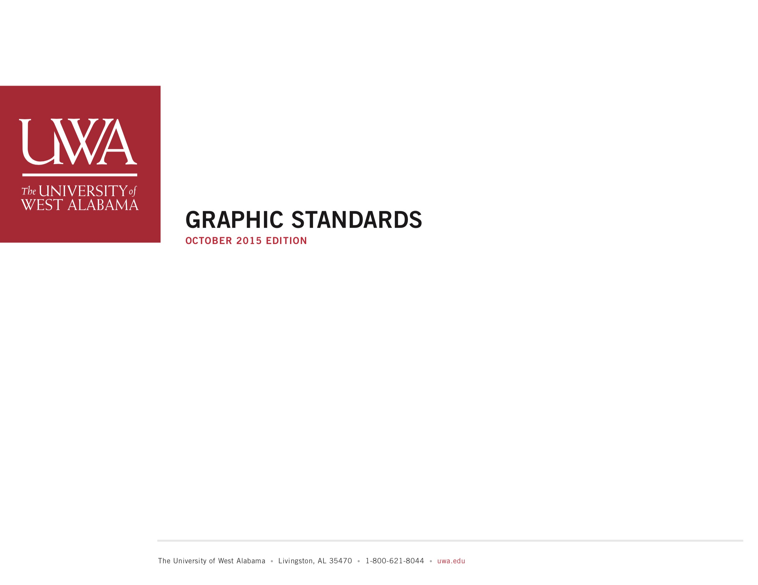 UWA Graphic Standards