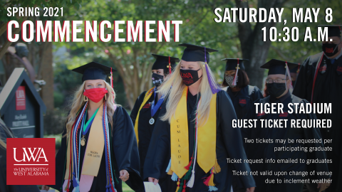 UWA Spring 2021 Commencement