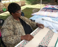 Quilting at the Folklife Festival