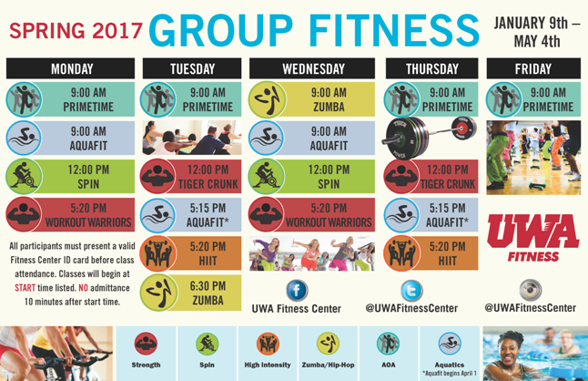 2017 Spring Group Exercise