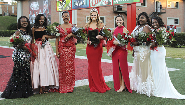 UWA Homecoming Court 2017 630360