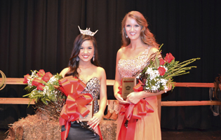 Miss UWA 2014 Winners Rotate