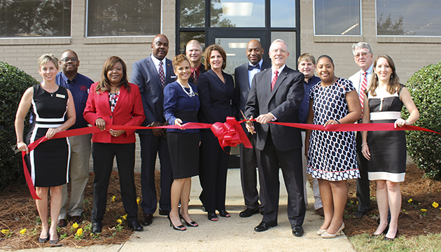 Center for Workforce Development ribbon cutting 630