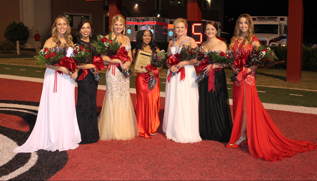 2014 Homecoming Court 630360