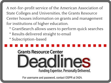 Funding - Grants Resource Center 2
